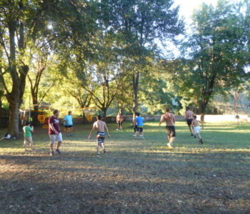 Camp-site activities – Football