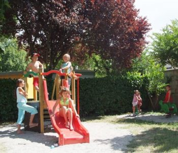 Camp-site activities - Playground for children
