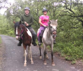 Horse riding around Saint Ambroix
